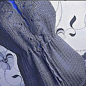 Одежда ручной работы. Ярмарка Мастеров - ручная работа Удлиненный жилет с ажурным воротником-2. Handmade.