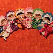 Украшения ручной работы. Ярмарка Мастеров - ручная работа Брошки-малышки. Handmade.