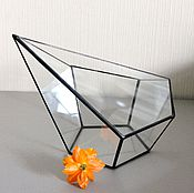 Цветы и флористика handmade. Livemaster - original item The Floriana plants for Sail. geometric vase for floriana. Handmade.