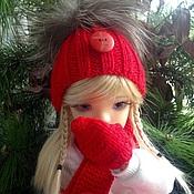 """Одежда для кукол ручной работы. Ярмарка Мастеров - ручная работа Комплект """"Красный"""". Одежда для кукол.. Handmade."""