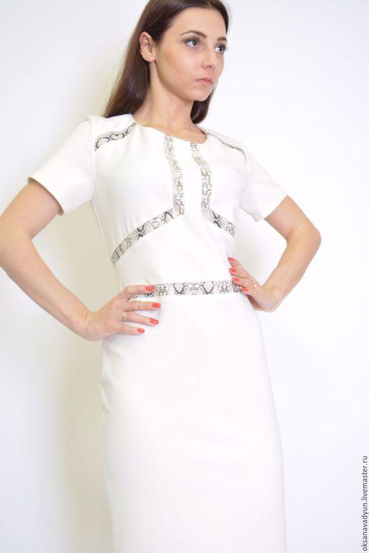 Платья ручной работы. Ярмарка Мастеров - ручная работа. Купить Платье Lady in white2. Handmade. Белый, дизайнерская одежда