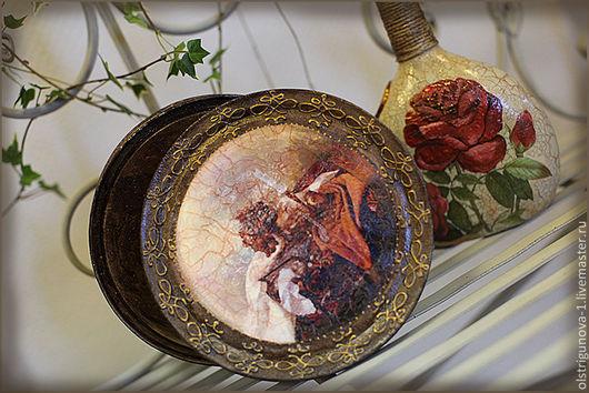 Корзины, коробы ручной работы. Ярмарка Мастеров - ручная работа. Купить Коробочка в Викторианском стиле. Handmade. Короб для хранения, контуры