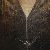 Картины и панно ручной работы. Ярмарка Мастеров - ручная работа О лебеде исчезнувшем. Handmade.