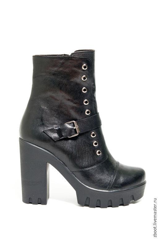 Обувь ручной работы. Ярмарка Мастеров - ручная работа. Купить Сапоги Frost. Handmade. Черный, натуральная кожа