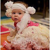 Работы для детей, ручной работы. Ярмарка Мастеров - ручная работа Нарядная юбочка для девочки. Handmade.