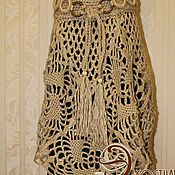Одежда handmade. Livemaster - original item Knitted openwork skirt Boho chic.. Handmade.