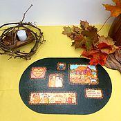 Для дома и интерьера ручной работы. Ярмарка Мастеров - ручная работа Подставка под тарелку.. Handmade.
