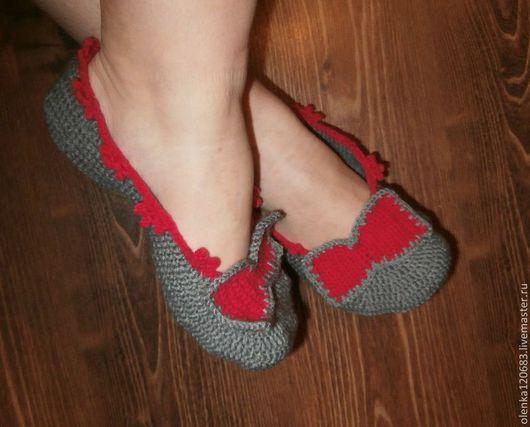 Обувь ручной работы. Ярмарка Мастеров - ручная работа. Купить Носочки-тапочки (женские и мужские). Handmade. Носочки, носочки-тапочки
