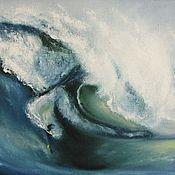 Картины и панно ручной работы. Ярмарка Мастеров - ручная работа Серфинг II. Handmade.