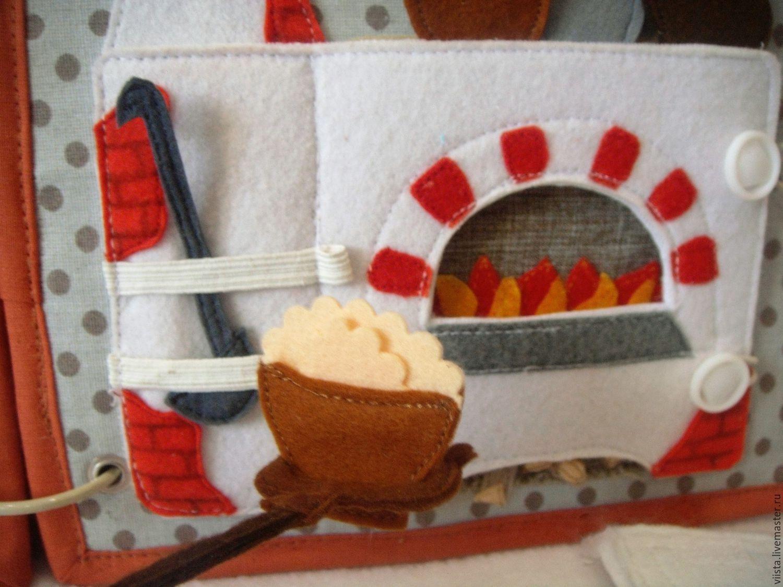 Educational Toys handmade. Livemaster - handmade. Buy Russian stove - razvivaya-game story.Toy, red, developmental mat