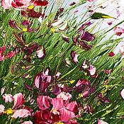 Картины и панно handmade. Livemaster - original item Oil painting meadow color. Handmade.
