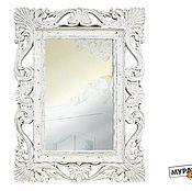 Для дома и интерьера ручной работы. Ярмарка Мастеров - ручная работа Зеркало в багетной раме. Handmade.