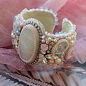 "Украшения handmade. Livemaster - original item Bracelet with moonstone ""Aurora"". Handmade."