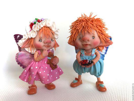 Коллекционные куклы ручной работы. Ярмарка Мастеров - ручная работа. Купить Тереза и Фредо. Handmade. Комбинированный, сказочный подарок