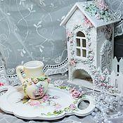 """Утварь ручной работы. Ярмарка Мастеров - ручная работа Кувшинчик """"Розовое чудо"""". Handmade."""