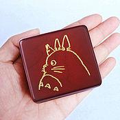 Музыкальные инструменты handmade. Livemaster - original item Hayao Miyazaki Totoro Totoro Music box with clockwork mechanism. Handmade.