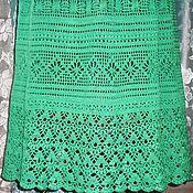Одежда handmade. Livemaster - original item Skirt Noble turquoise. Hook.. Handmade.