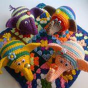 Куклы и игрушки ручной работы. Ярмарка Мастеров - ручная работа Слоники на счастье. Handmade.