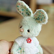 Куклы и игрушки ручной работы. Ярмарка Мастеров - ручная работа Эллен (11 см. без ушек). Handmade.