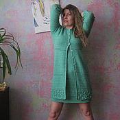 """Одежда ручной работы. Ярмарка Мастеров - ручная работа """"Ольга"""" кардиган + платье. Handmade."""