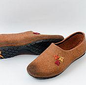"""Обувь ручной работы. Ярмарка Мастеров - ручная работа Туфли женские -слиперы """"lucky day"""". Handmade."""