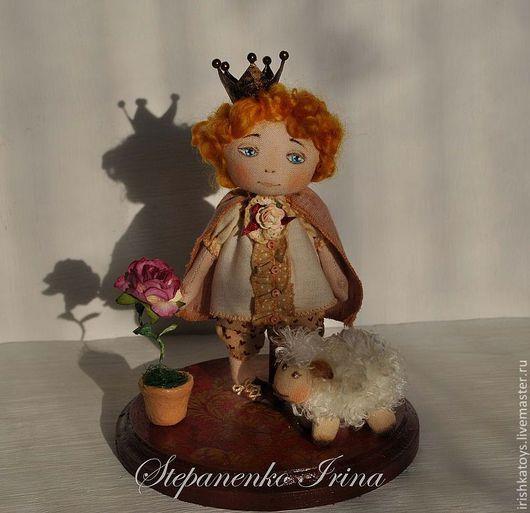Коллекционные куклы ручной работы. Ярмарка Мастеров - ручная работа. Купить Маленький Принц, Барашек и Роза. Handmade. Маленький принц