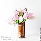 Цветы и флористика ручной работы. Ярмарка Мастеров - ручная работа Тюльпаны. Handmade.