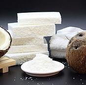 Мыло ручной работы. Ярмарка Мастеров - ручная работа Мыло с молоком ослиц Кокосовое. Handmade.