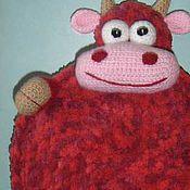 Куклы и игрушки ручной работы. Ярмарка Мастеров - ручная работа Бычок-подушка . Handmade.