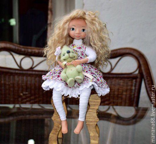 Коллекционные куклы ручной работы. Ярмарка Мастеров - ручная работа. Купить Кукла интерьерная Эльза. Handmade. Игрушка ручной работы