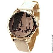 Украшения ручной работы. Ярмарка Мастеров - ручная работа Дизайнерские наручные часы Поцелуй. Handmade.