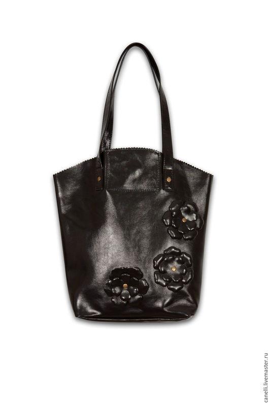 Дизайнерские кожаные сумки и аксессуары. Женская сумка Милан, кожа напплак