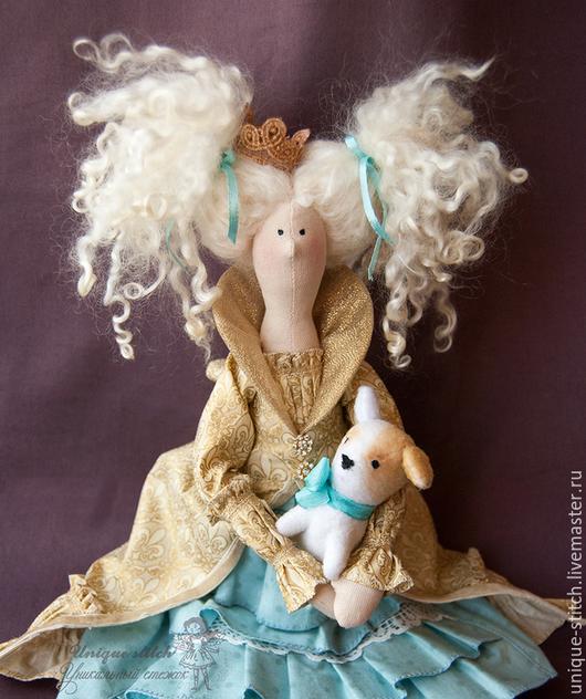 Куклы Тильды ручной работы. Ярмарка Мастеров - ручная работа. Купить Тильда Принцесса Сесиль. Текстильная кукла. Продана. Handmade.