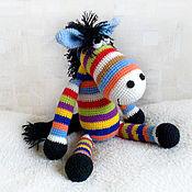 Куклы и игрушки handmade. Livemaster - original item Rainbow horse (50cm). Handmade.