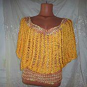 Одежда ручной работы. Ярмарка Мастеров - ручная работа Ажурная блуза. Handmade.