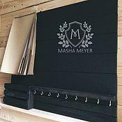 Для дома и интерьера handmade. Livemaster - original item Large shelf housekeeper slate Notepad as a gift. Handmade.