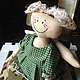 Куклы тыквоголовки ручной работы. Ярмарка Мастеров - ручная работа. Купить Куклы на праздники. Handmade. Разноцветный, тыква, ангелы