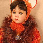 """Куклы и игрушки ручной работы. Ярмарка Мастеров - ручная работа кукла фарфоровая """"Мамочкин лисенок"""" (для Ирины). Handmade."""