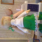 Куклы и игрушки ручной работы. Ярмарка Мастеров - ручная работа кукла Зимняя девочка. Handmade.