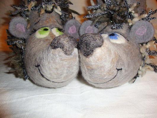 """Обувь ручной работы. Ярмарка Мастеров - ручная работа. Купить """"Пофырчим?"""". Handmade. Шерсть"""