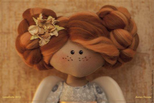 Человечки ручной работы. Ярмарка Мастеров - ручная работа. Купить - Нежный Ангелок Полли -. Handmade. Кукла ручной работы, хендмейд
