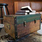 Для дома и интерьера ручной работы. Ярмарка Мастеров - ручная работа Сундук-стол журнальный. Handmade.