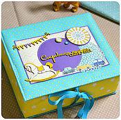 Подарки к праздникам ручной работы. Ярмарка Мастеров - ручная работа Мамины сокровища для мальчика с лошадкой, подарок новорожденному.. Handmade.
