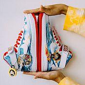 Обувь ручной работы handmade. Livemaster - original item Anime Shoe Painting One piece. Custom Nike Air Force Sneakers. Handmade.
