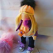 Мягкие игрушки ручной работы. Ярмарка Мастеров - ручная работа Интерьерная кукла - малютка. Handmade.