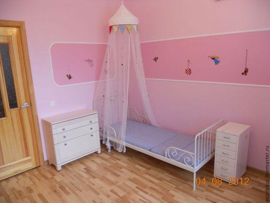 Мебель ручной работы. Ярмарка Мастеров - ручная работа. Купить Комната для маленькой леди. Handmade. Детская комната, тумба, шпон