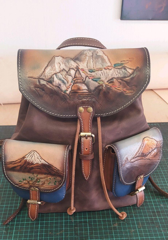 Рюкзак из натуральной кожи, Рюкзаки, Рязань,  Фото №1