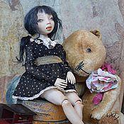 """Куклы и игрушки ручной работы. Ярмарка Мастеров - ручная работа Шарнирная кукла """"Лу"""". Handmade."""