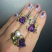handmade. Livemaster - original item Set of jewelry