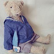 Куклы и игрушки ручной работы. Ярмарка Мастеров - ручная работа Маленький морской волчонок. Handmade.